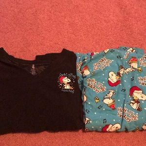Other - Snoopy Christmas PJ's